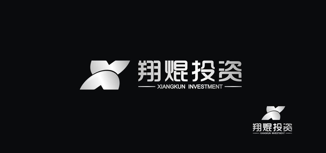 翔焜投资 标志设计 l 锐聚设计 长沙品牌形象策划 长沙标志设计 长沙